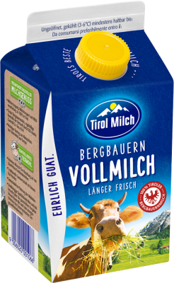 Tiroler ESL BB Vollmilch 3,5% 0,5l